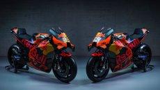 MotoGP: KTM e Tech3 inaugurano il 2021: segui la presentazione in live streaming