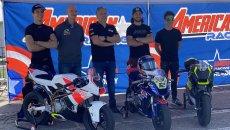 MotoGP: Hopkins e Roger Hayden a caccia di talenti con l'America Racing Academy
