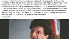 """MotoGP: L'addio del Dottor Costa a Gresini: """"mi sento un padre senza un figlio"""""""