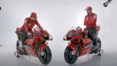 MotoGP: LIVE STREAMING - Ecco le Ducati Demosedici GP21 di Bagnaia e Miller