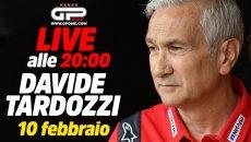 MotoGP: LIVE - Davide Tardozzi alle 20:00 ospite della nostra diretta