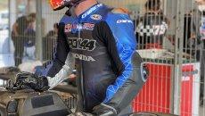 MotoGP: Pol Espargarò in pista a Barcellona con la Honda, ma è la CBR 1000 RR-R