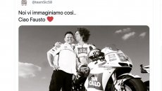 MotoGP: The world of motors bids farewell to Fausto Gresini: condolences worldwide from the web