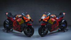 MotoGP: PHOTOS - Here is the 2021 KTM: same colours but bigger goals
