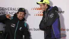 MotoGP: Rossi e Morbidelli: passato e futuro di Yamaha si incontrano in Petronas