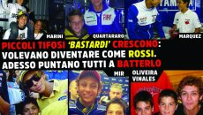 MotoGP: Little 'bastard' fans grow up: they wanted a photo with Rossi, now just to beat him