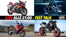 Moto - News: LIVE - Test Talk alle 21:00 - dalla Monster alla MT-09, passando per la RSV4