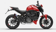 Moto - News: Ducati Monster 2021: ecco la nuova linea di accessori