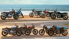 Moto - News: Royal Enfield Continental GT e Interceptor 650, Euro 5 e nuovi colori