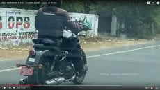Moto - News: Royal Enfield, la cruiser 650 sorpresa ancora durante i test [VIDEO]