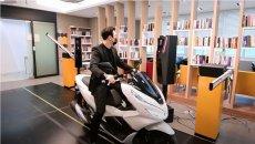 Moto - News: Arriva il parcheggio biometrico che protegge la moto dai furti
