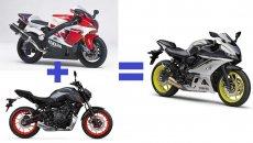 Moto - News: Yamaha YZF-R7, documenti depositati, la supersportiva arriva nel 2022