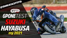 Moto - Test: Video Prova Suzuki Hayabusa 2021: in sella al falco