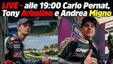 Moto2: LIVE - Moto2 e Moto3 alle 19:00 con Carlo Pernat, Arbolino e Migno