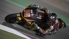 Moto2: Sam Lowes imbattibile in Qatar, la pole è sua. Quarto Bezzecchi
