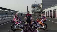 Moto3: Snipers starts 2021 in purple with Andrea Migno and Filip Salac