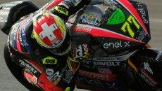 MotoE: Aegerter miglior tempo nei primi test MotoE a Jerez, Ferrari 5° con caduta