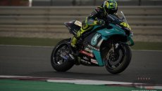 "MotoGP: Rossi: ""This morning I was excited, being with Petronas gave me strength"""