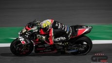 "MotoGP: Espargarò: ""The Aprilia is fast, but you need muscles to ride it"""