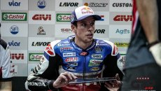 "MotoGP: Alex Marquez: ""I have a fracture in my right foot, I made a mistake"""