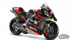 MotoGP: Here is the Aprilia RS-GP 2021: ex-Ferrari man Marmorini helped develop the engine