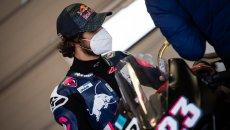 MotoGP: Enea Bastianini rischia di perdere il primo giorno di test in Qatar