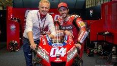 """MotoGP: Battistella: """"Wild card per Dovizioso? Solo con un progetto per il 2022"""""""