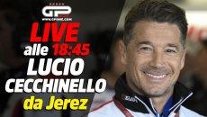 MotoGP: LIVE - Lucio Cecchinello ospite della nostra diretta alle 18.45