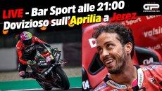 MotoGP: LIVE - Bar Sport alle 21:00 - Tutto sul test di Dovizioso con l'Aprilia
