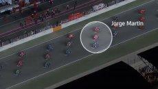 MotoGP: Razzo Ducati in Qatar: il video di Martin: da 14° a 4° al via