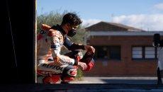 """MotoGP: Marquez: """"Forse correrò in Qatar, ma non posso garantire nulla"""""""