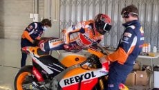 MotoGP: VIDEO - Marc Marquez back on track: at Portimao on the Honda RC213V-S