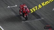 MotoGP: Ducati e Dovizioso dominano le più alte velocità mai registrate in MotoGP