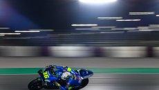 """MotoGP: Mir: """"Mi fanno male le dita e capisco che sono tornato sulla MotoGP"""""""