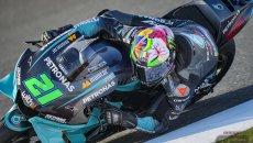 MotoGP: Morbidelli si prende la FP3, Marini 3°. Miller 1° in combinata, Rossi in Q2