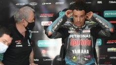 """MotoGP: Morbidelli su Rossi: """"Vale parla a voce alta nel box, amo questa cosa"""""""