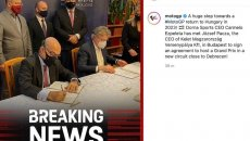MotoGP: Un nuovo circuito per la MotoGP in Ungheria dal 2023