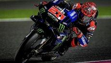"""MotoGP: Quartararo: """"Sento la responsabilità del team ufficiale, e mi piace"""""""