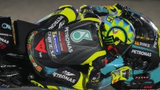 """MotoGP: Rossi: """"Stresso troppo le gomme. Il problema è chiaro, non la soluzione"""""""