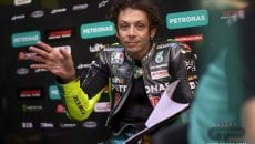 """MotoGP: Rossi: """"The new frame? Similar to the old one, and I have no rear grip."""""""