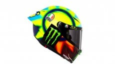 MotoGP: PHOTOS AND VIDEO - Valentino Rossi unveils his new 2021 helmet