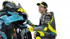 MotoGP: VIDEO - Dietro le quinte del primo giorno di Rossi da pilota Petronas