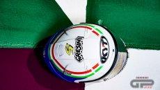 MotoGP: L'omaggio di Savadori a Gresini: in Qatar con il casco di Fausto