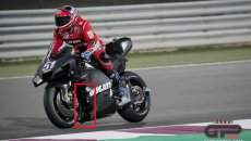 MotoGP: Test in Qatar, Day 1: Ducati, another step forward in aerodynamics