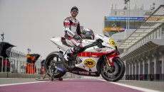 MotoGP: Crutchlow in Qatar with a special livery for Yamaha's 60th anniversary