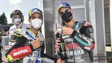 "MotoGP: Zarco e Quartararo d'accordo: ""Marc Marquez correrà in Qatar"""
