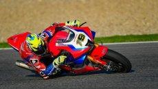 SBK: Honda si nasconde: test a porte chiuse per Bautista a Jerez e c'è Lowes!