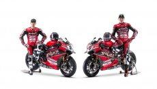 SBK: Ducati: ecco le Panigale V4 2021 di Redding e Rinaldi