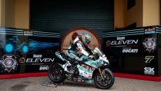 SBK: Go Eleven cambia look! Ecco la Ducati V4 di Chaz Davies