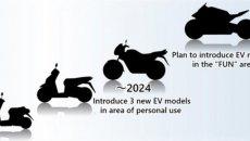 """Moto - News: Honda: 3 moto elettriche per il 2024, poi una """"hyper"""" alla spina"""
